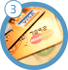 Enter payment info