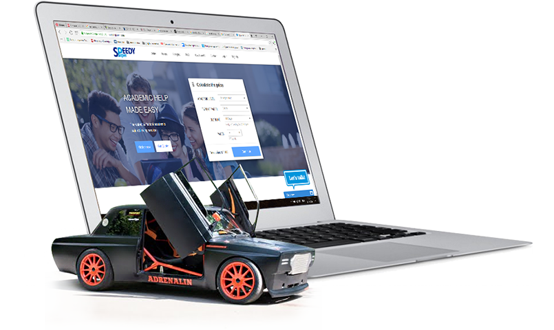 Драгстер на фоне MacBook с сайта партнерской программы EduCashion.net